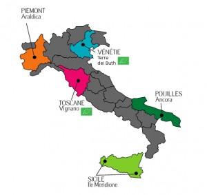 Carte Italie 2