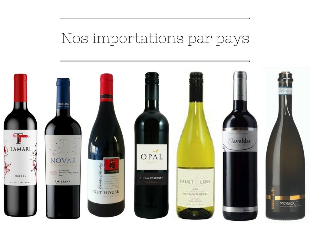 Importations vins étrangers