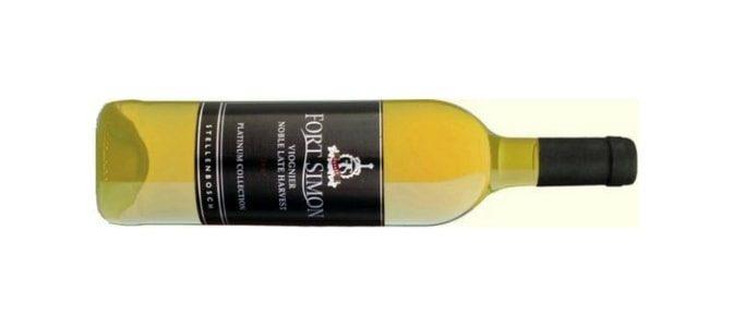 FORT SIMON – Viognier Late Harvest – Vin d' Afrique du Sud