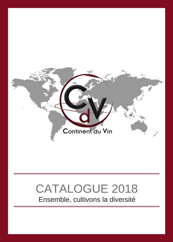 Catalogue Continent du Vin 2018