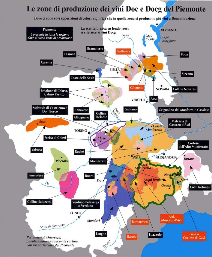 appellations italie piemonte